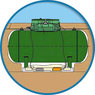 Gas minopoli impianti - Bombolone gas interrato ...